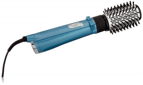BaByliss Pro Nano Titanium 2 Inch Rotating Hot Air Brush, Blue best babyliss hot air brushes in 2020 - babyliss pro nano titanium rotating hot air brush 500x297 - Best BaByliss Hot Air Brushes In 2020