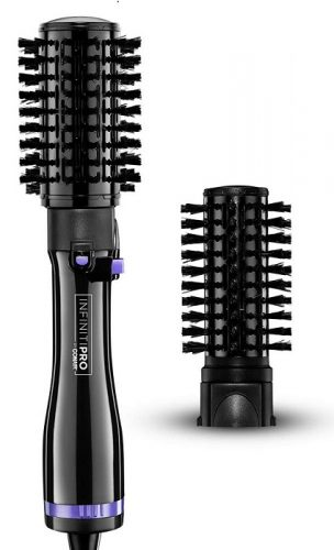 INFINITIPRO BY CONAIR Hot Air Spin Brush, 2 Inch and 1 1/2 Inch, Black best babyliss hot air brushes in 2020 - infinitipro by conair hot air spin brush 2 inch and 1 1 2 inch black 304x500 - Best BaByliss Hot Air Brushes In 2020